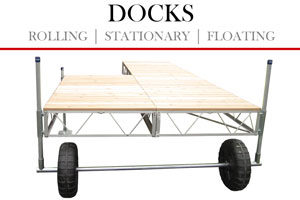 Docks - Rolling | Stationary | Floating